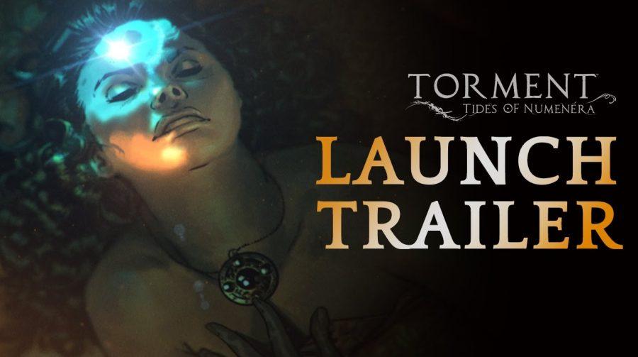 Torment: Tides of Numenera recebe trailer de lançamento