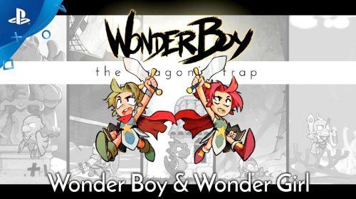 Wonder Boy: The Dragon's Trap tem nova heroína jogável, a Wonder Girl