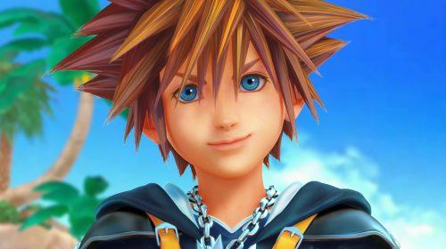 Loja lista coletânea de Kingdom Hearts para PlayStation 4