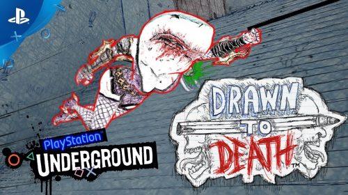 28 minutos de gameplay de Drawn to Death, jogo 'gratuito' do mês