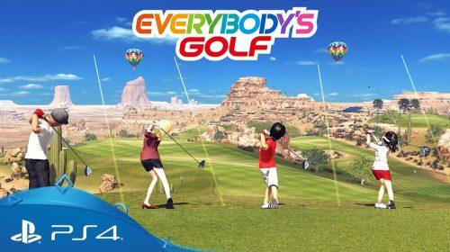 Everybody's Golf: novo trailer mostra cenários e customizações