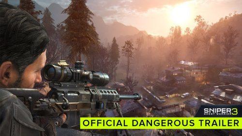Novo trailer de Sniper: Ghost Warrior 3 se mostra como