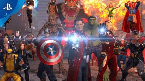 Marvel Heroes Omega chegará gratuitamente para o PS4