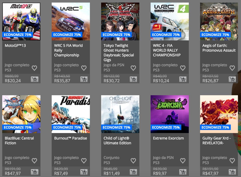 """Sony anuncia """"Promoção de Páscoa"""" na PSN; confira preços e jogos 12"""