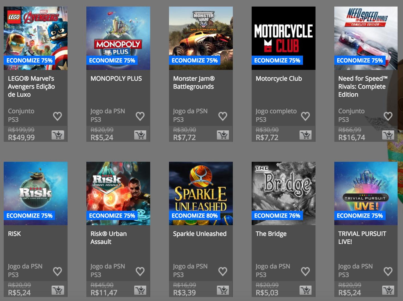 """Sony anuncia """"Promoção de Páscoa"""" na PSN; confira preços e jogos 13"""