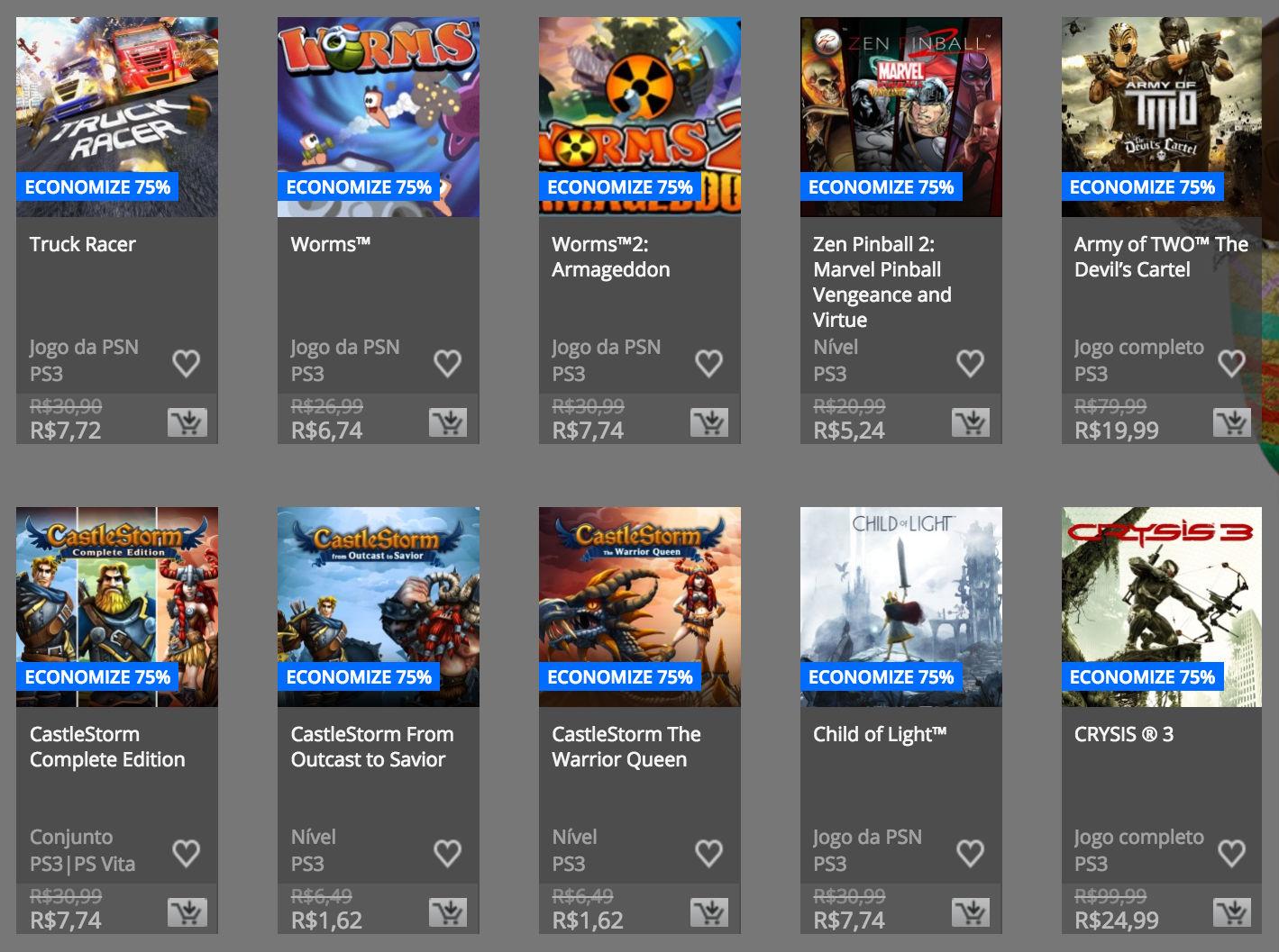 """Sony anuncia """"Promoção de Páscoa"""" na PSN; confira preços e jogos 14"""