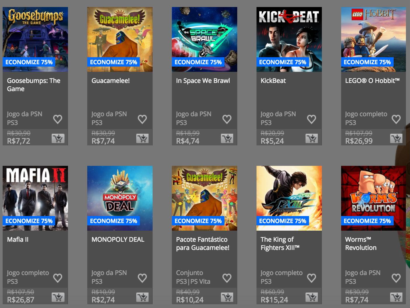 """Sony anuncia """"Promoção de Páscoa"""" na PSN; confira preços e jogos 15"""