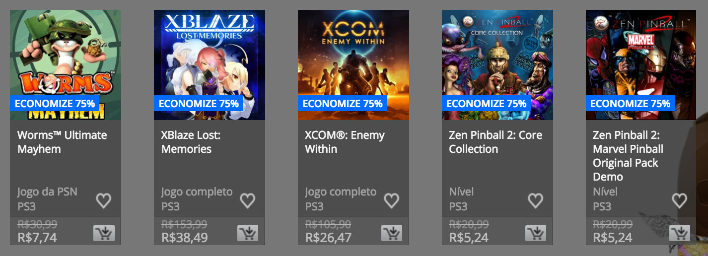 """Sony anuncia """"Promoção de Páscoa"""" na PSN; confira preços e jogos 16"""