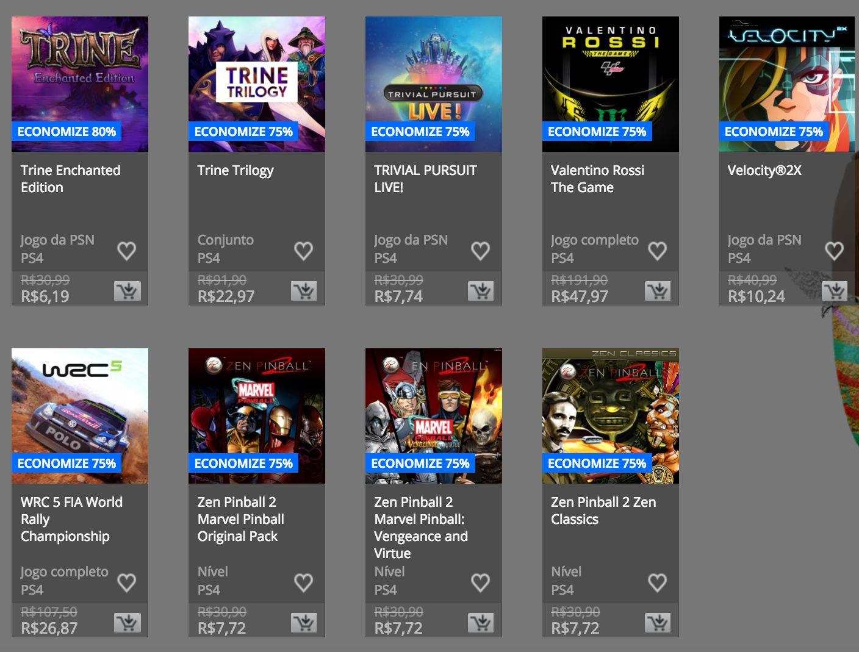 """Sony anuncia """"Promoção de Páscoa"""" na PSN; confira preços e jogos 11"""