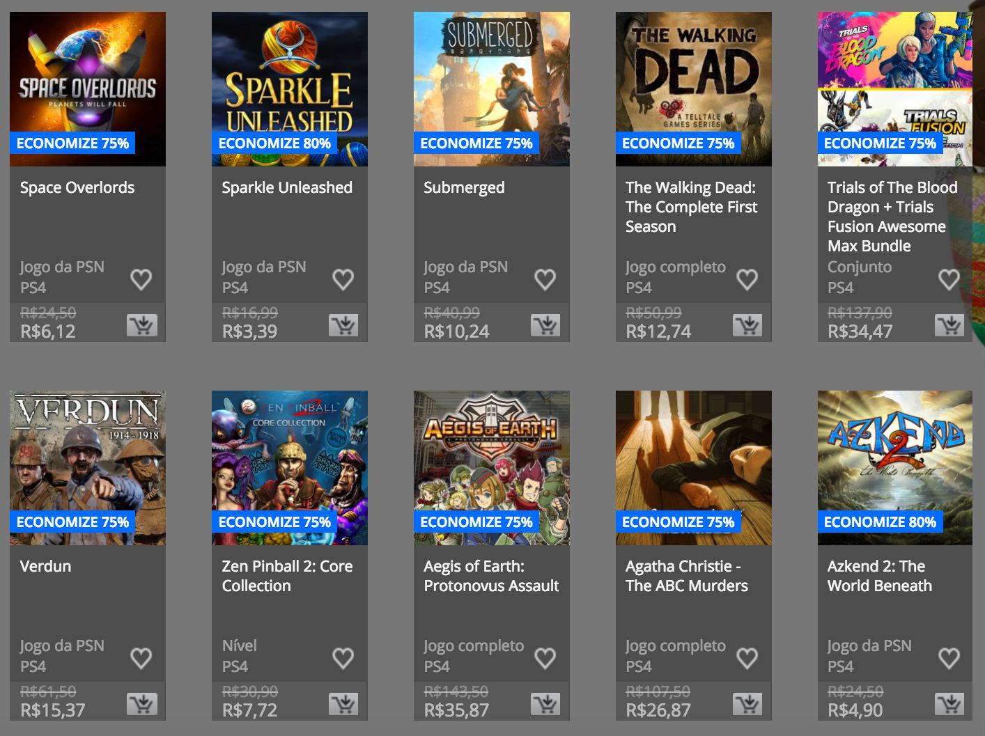 """Sony anuncia """"Promoção de Páscoa"""" na PSN; confira preços e jogos 3"""