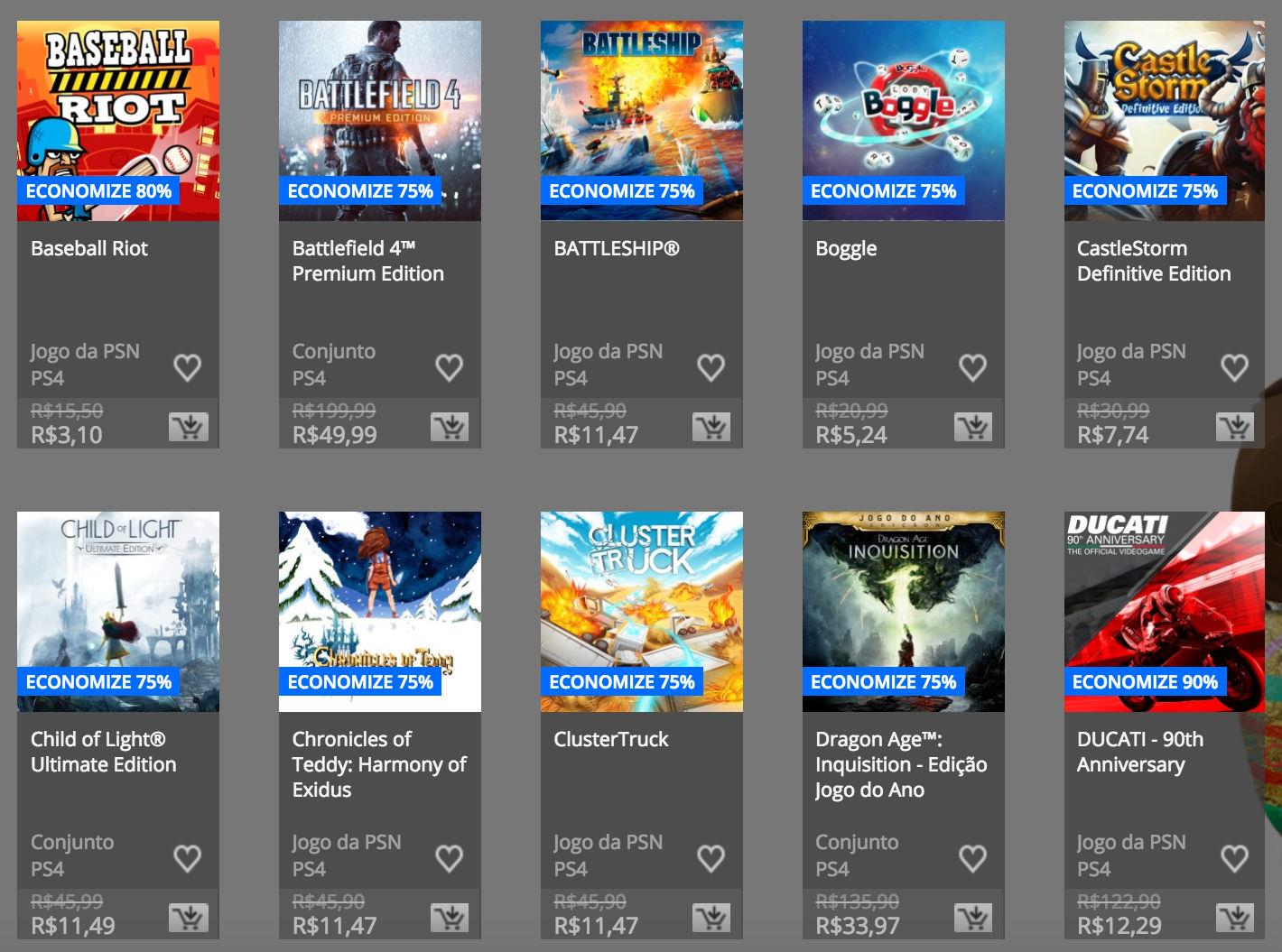 """Sony anuncia """"Promoção de Páscoa"""" na PSN; confira preços e jogos 4"""
