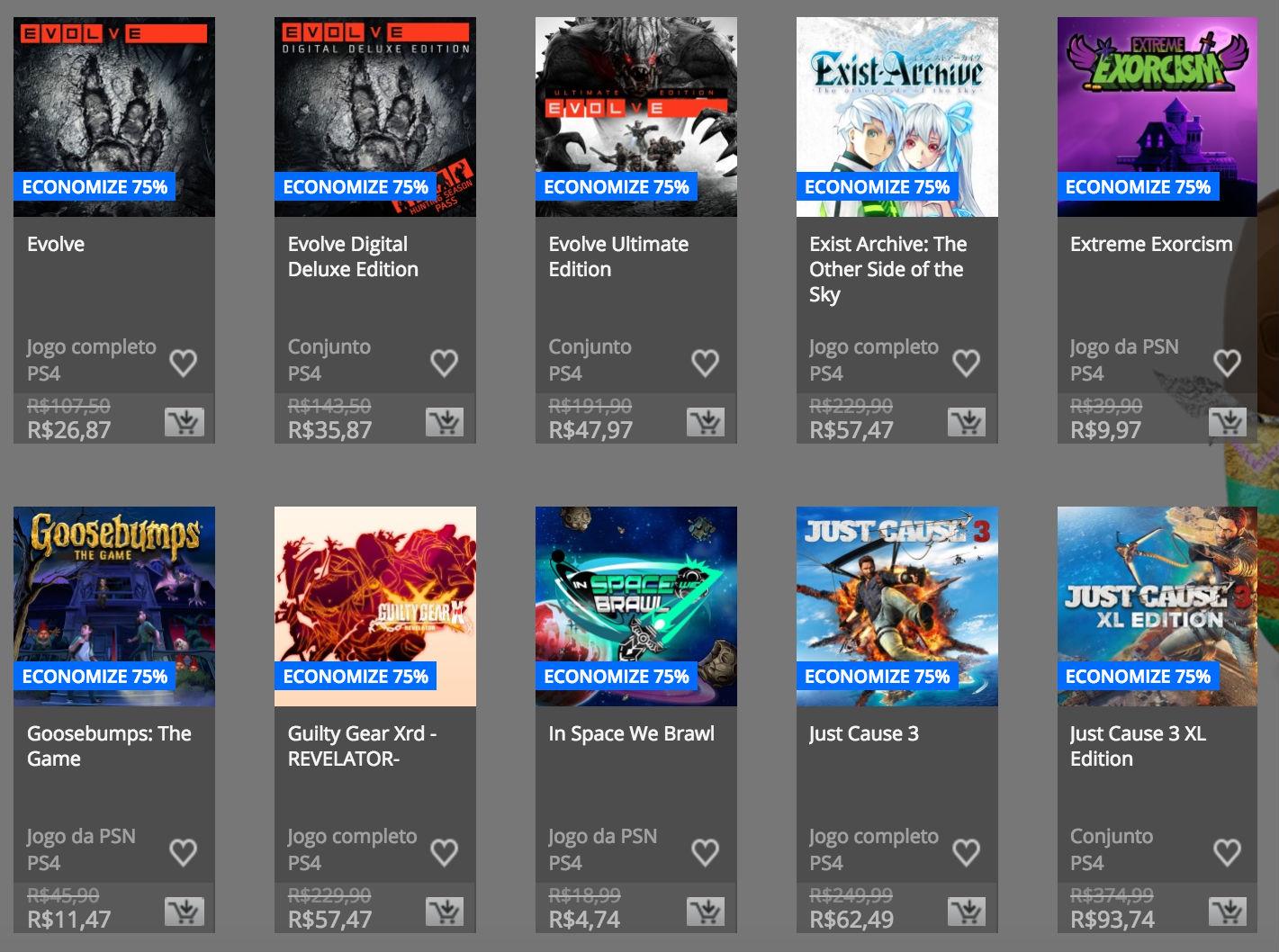 """Sony anuncia """"Promoção de Páscoa"""" na PSN; confira preços e jogos 5"""