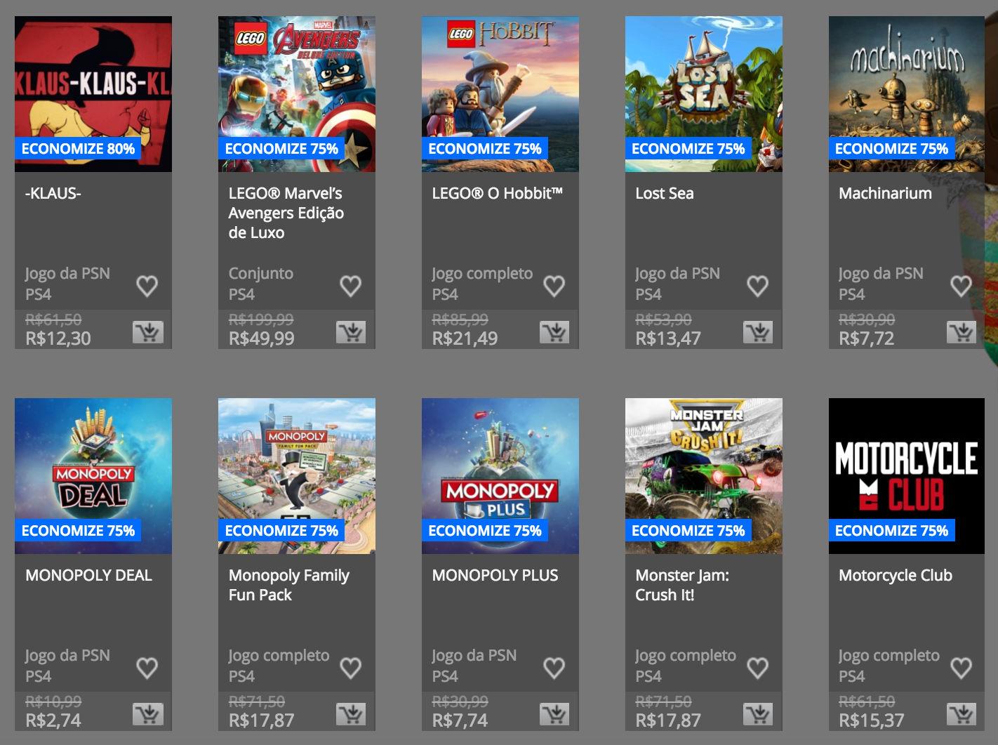 """Sony anuncia """"Promoção de Páscoa"""" na PSN; confira preços e jogos 6"""