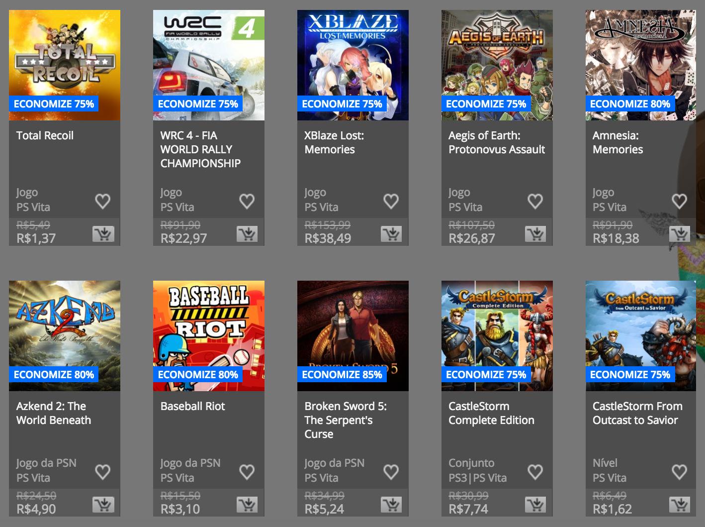 """Sony anuncia """"Promoção de Páscoa"""" na PSN; confira preços e jogos 18"""