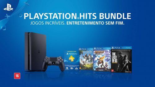 Sony anuncia PlayStation Hits Bundle para o Brasil; conheça