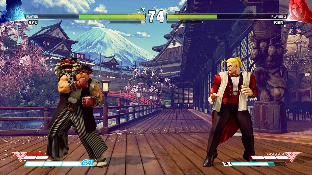 Capcom Pro Tour 2017 comercializado via DLC para Street Fighter V 1