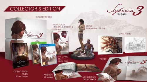 Syberia 3 recebe edição de colecionador; Unboxing
