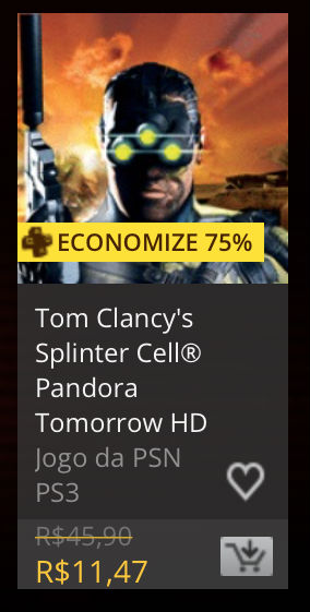"""Sony anuncia """"Promoção Tom Clancy"""" na PSN; confira 3"""