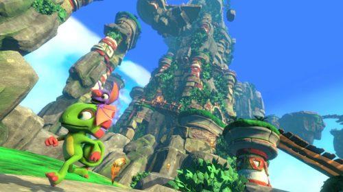 Yooka-Laylee tem primeiro mundo revelado em novo gameplay