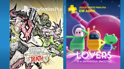 Conheça os jogos da PlayStation Plus de Abril