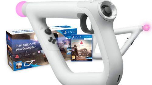 Veja: Criativo unboxing Aim Controller de Farpoint para o PlayStation VR