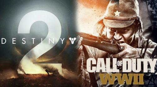 Activision anuncia 'ótimas pré-vendas' para CoD: WWII e Destiny 2