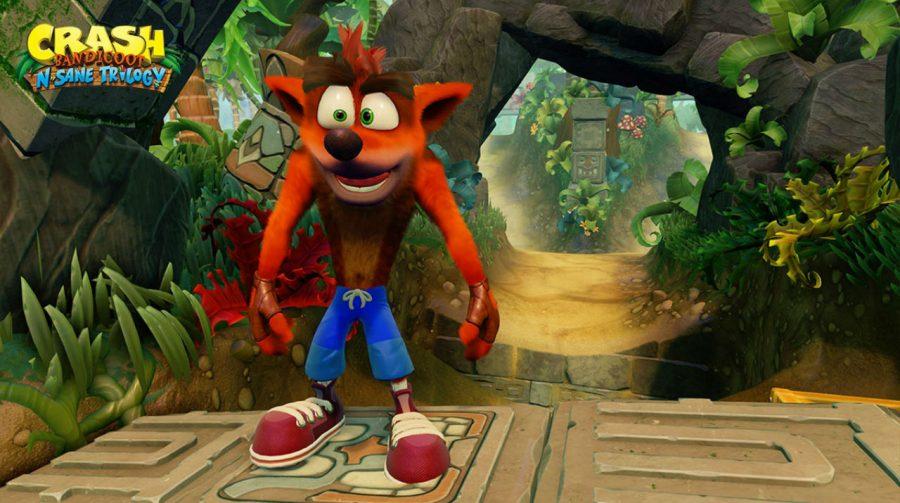 Pela segunda semana Crash Bandicoot é o mais vendido no Reino Unido