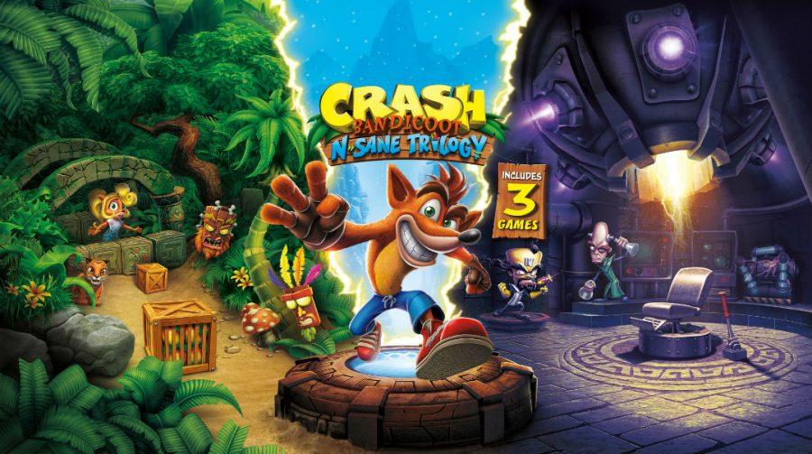 Edição Física! Crash Bandicoot N. Sane Trilogy entra em pré-venda