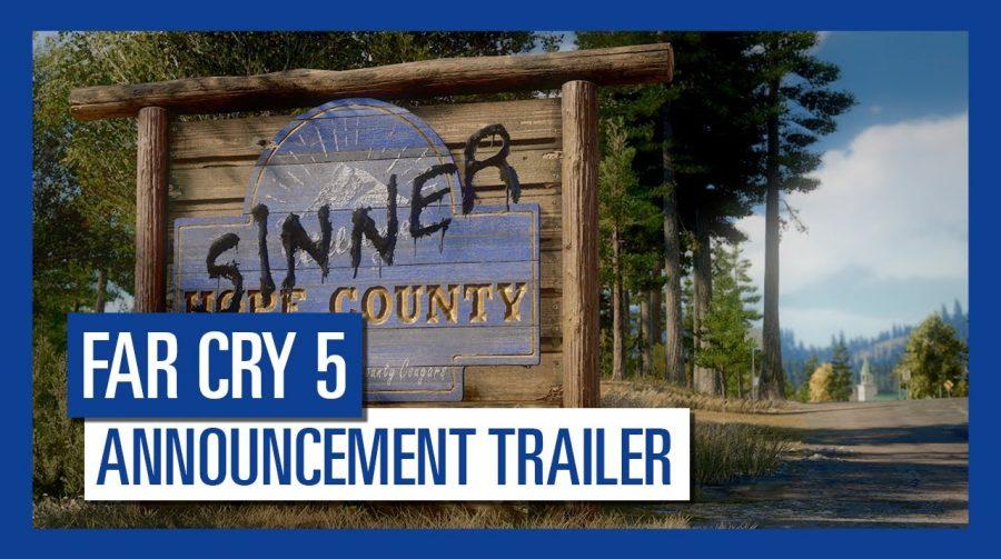 Far Cry 5 será lançado em 27 de Fevereiro; confira primeiro trailer