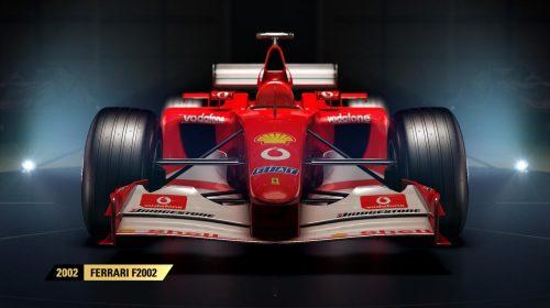 F1 2017 terá carros de Senna, Mansel e Schumacher