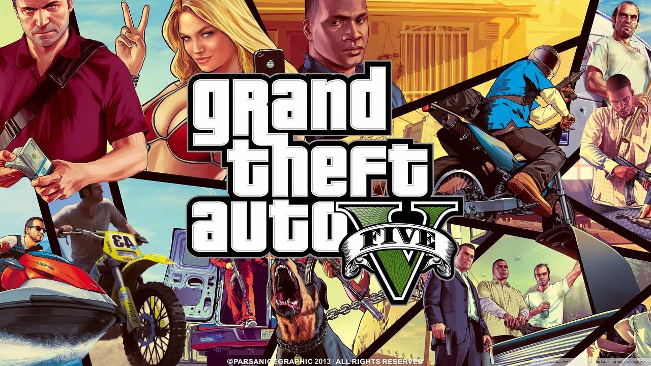 GTA V - Os 10 melhores Jogos de PlayStation 3