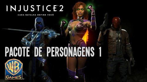 Injustice 2: Novos personagens chegam em breve