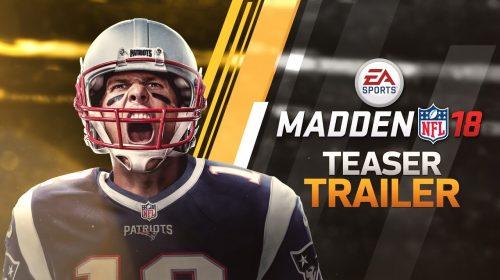 'Melhor de todos os tempos', Tom Brady é capa de Madden NFL 18