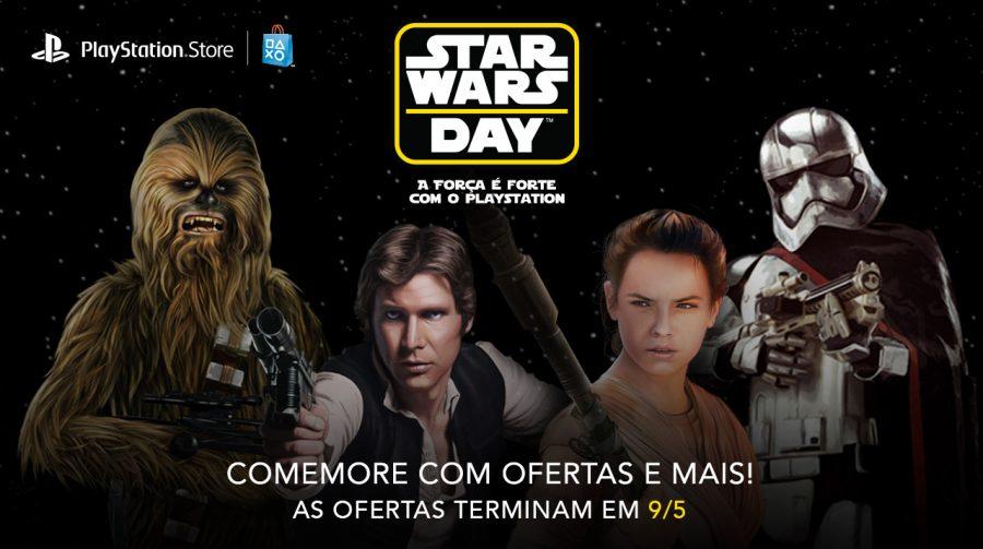Sony oferece descontos em jogos da saga Star Wars; veja