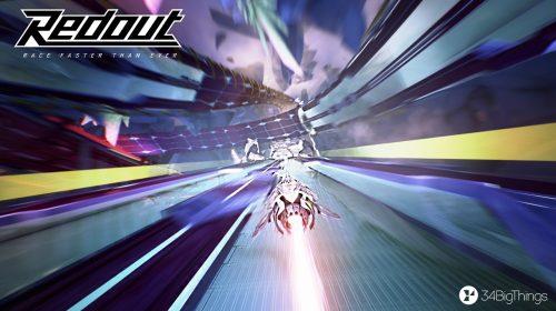 Ao estilo F-Zero, Redout ganha data de lançamento para o PlayStation 4