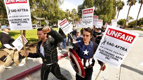 Produtoras de games atendem às exigências de dubladores em greve nos EUA