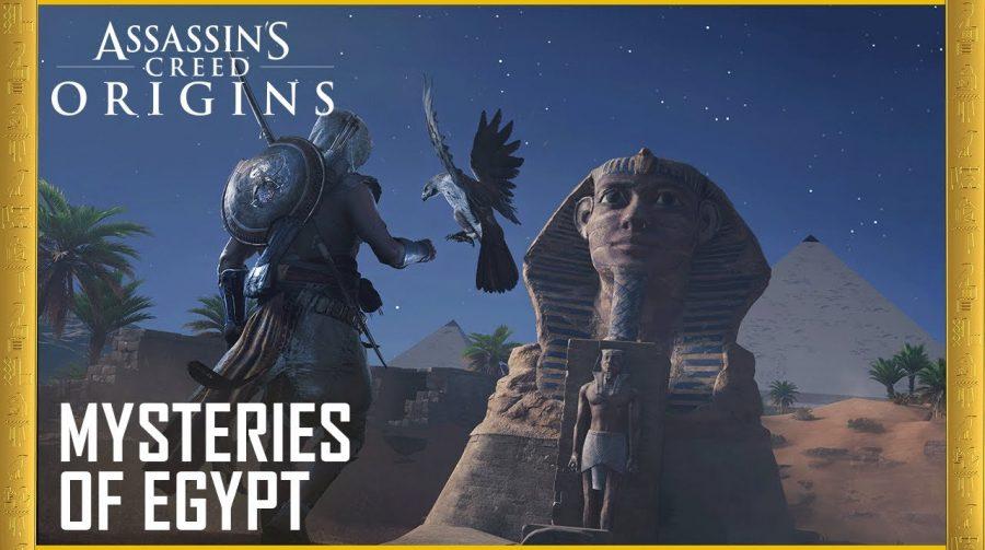 Trailer de Assassin's Creed Origins ressalta a ambientação do Antigo Egito