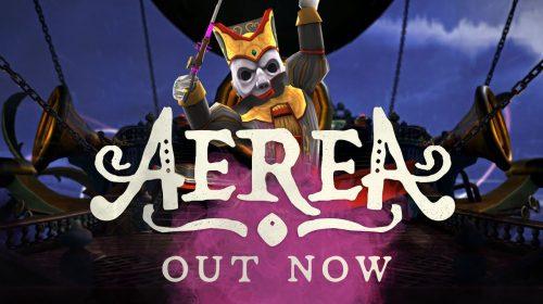 AereA chegou ao PS4 hoje (30/06); confira detalhes