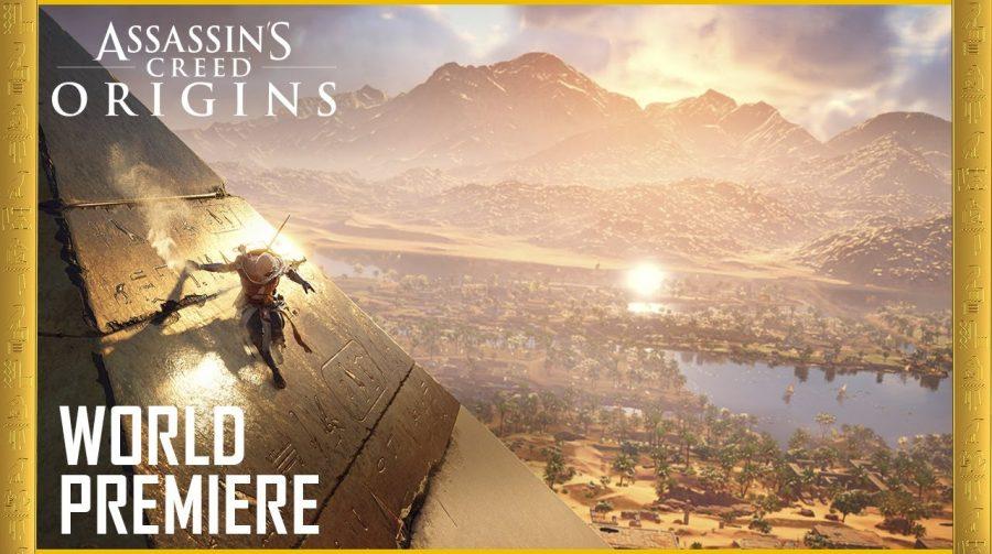 Ubisoft revela oficialmente Assassin's Creed: Origins; assista!
