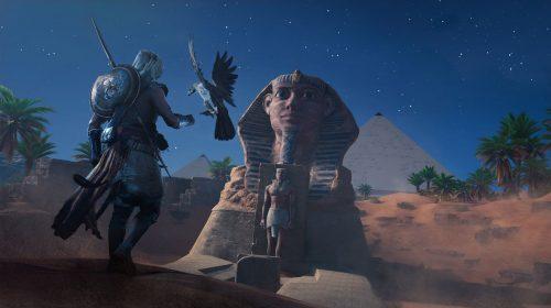 Assassin's Creed Origins: Mundo aberto, chefe e exploração