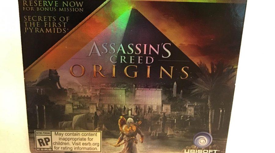 [Rumor] Vaza suposto cartão de pré venda de Assassin's Creed Origins
