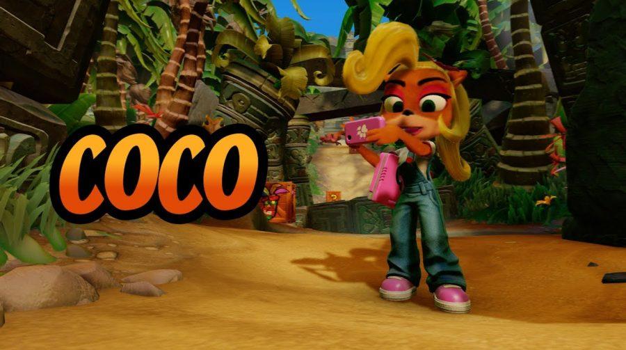 Coco Bandicoot será personagem jogável em N. Sane Trilogy