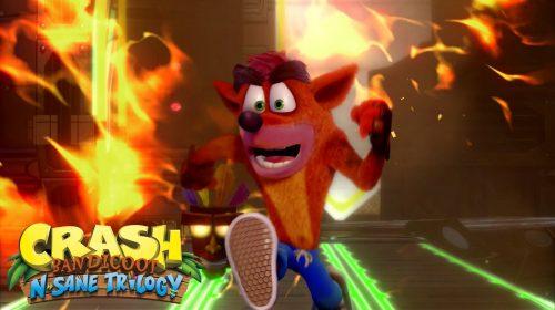 Sucesso! Crash Bandicoot já vendeu mais de 2.5 milhões cópias no PS4