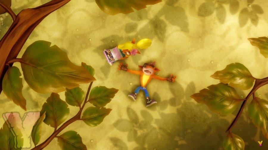 Crash Bandicoot N. Sane Trilogy devolve easter egg para Uncharted