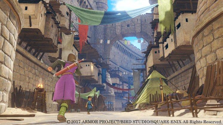 Square Enix libera novas imagens de Dragon Quest XI; confira 1
