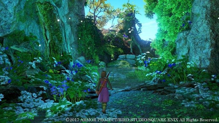 Square Enix libera novas imagens de Dragon Quest XI; confira 2