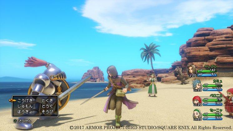 Square Enix libera novas imagens de Dragon Quest XI; confira 7
