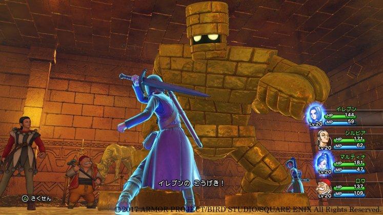 Square Enix libera novas imagens de Dragon Quest XI; confira 4