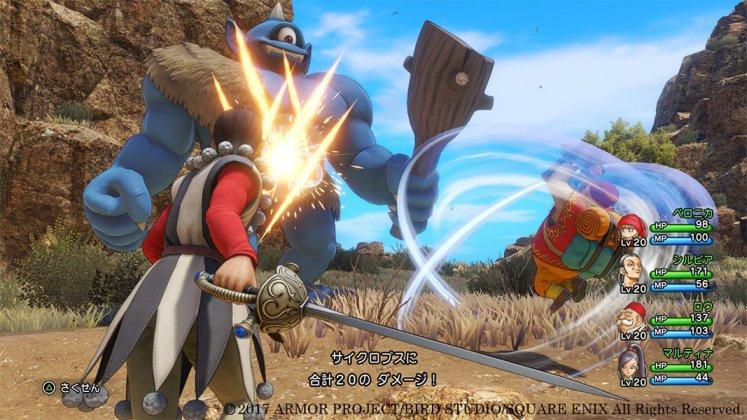 Square Enix libera novas imagens de Dragon Quest XI; confira 8