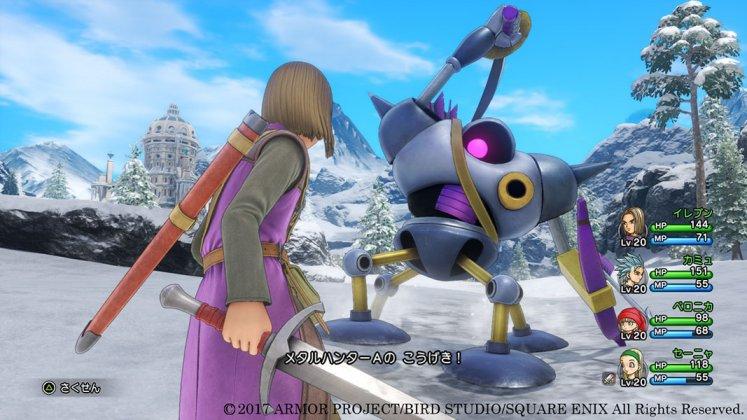 Square Enix libera novas imagens de Dragon Quest XI; confira 9